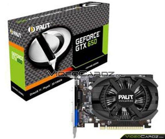 Palit GeForce GTX 650 VC