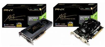 PNY GTX 650 and GTX 660