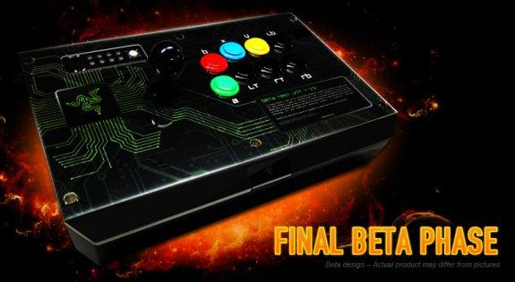Razer arcade stick final beta phase photo