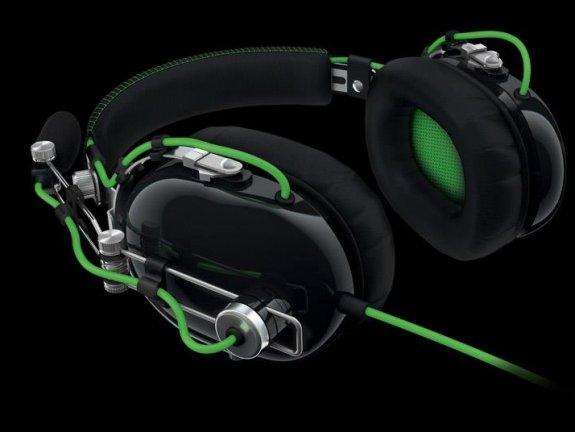 Razer BlackShark headset flat