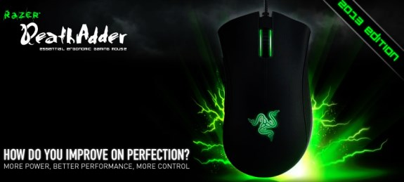 Razer DeathAdder 2013 refresh