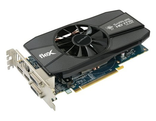 Sapphire Radeon HD 7770 FleX video card