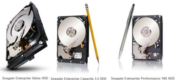 Seagate enterprise HDDs