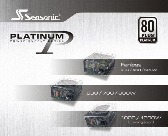 Seasonic Platinum PSU line