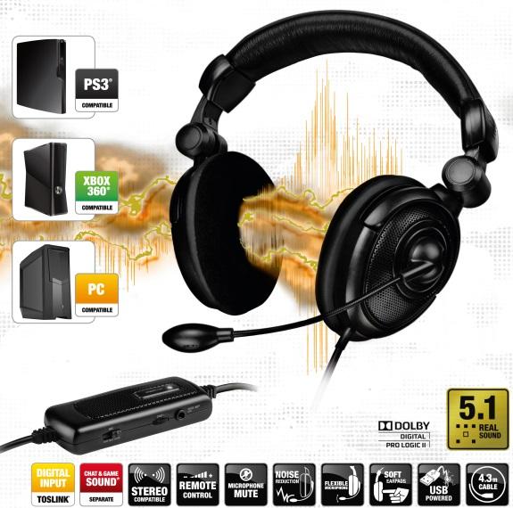 Speedlink Medusa 5.1 headset