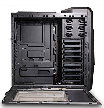 Spire X2 6011 MOD case interior