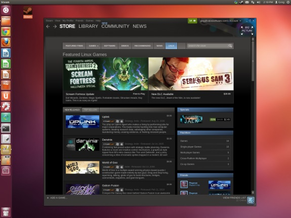 Steam for Linux client