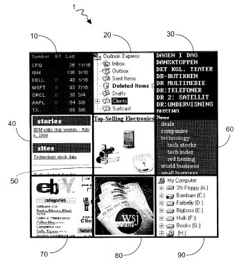 Surfcast tile patent