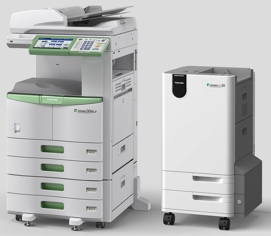 Toshiba printer that can erase prints