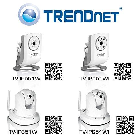 TRENDnet reveals four new IP cameras