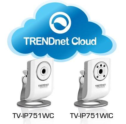 TRENDnet cloud IP cameras