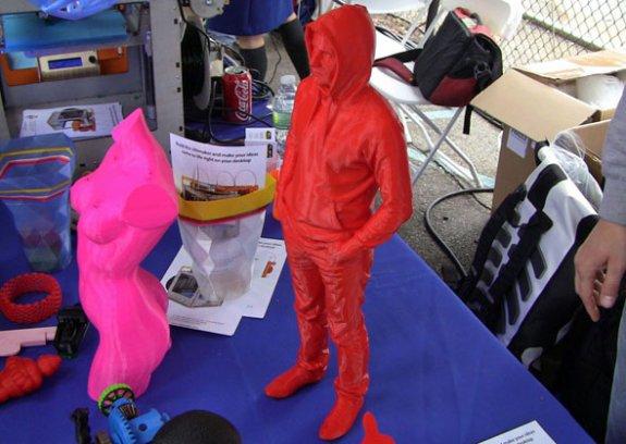 3D printing at Maker Faire 2012 NY