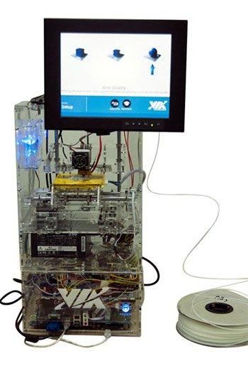 VIA 3D printer