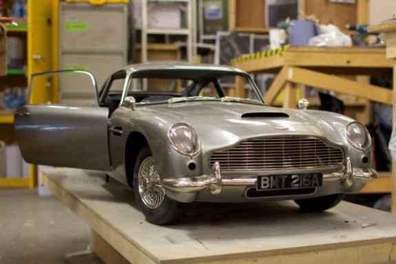 3D printer car in new James Bond film