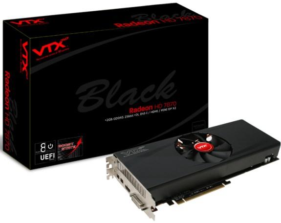 VTX3D Radeon HD 7870 Black