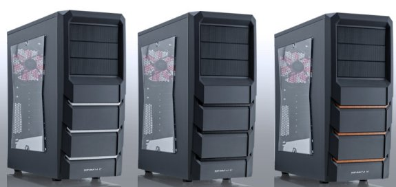 Xigmatek Asgard 382 mid-tower comes in six versions