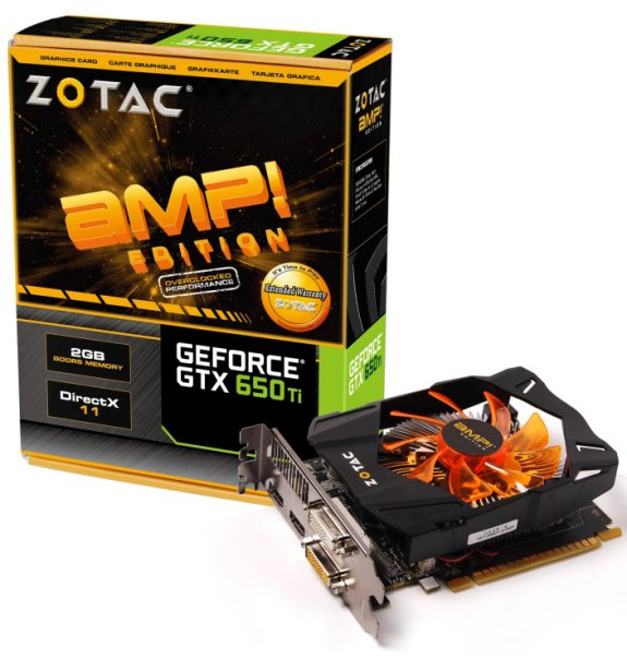 Zotac GeForce GTX 650 Ti AMP