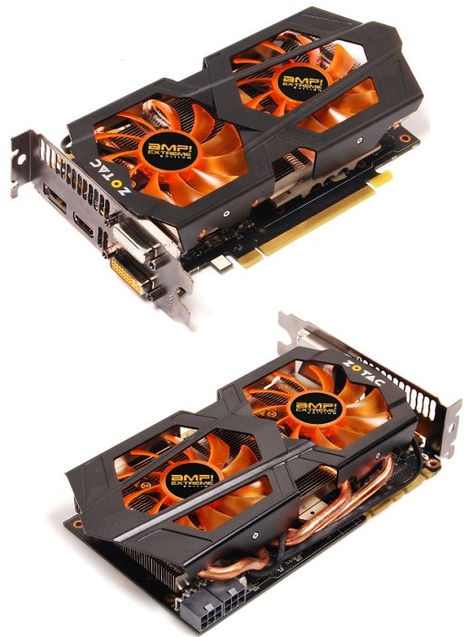Zotac GeForce GTX 660 Ti AMP! Extreme video card
