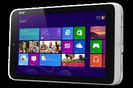 Acer Windows 8 8-inch tablet