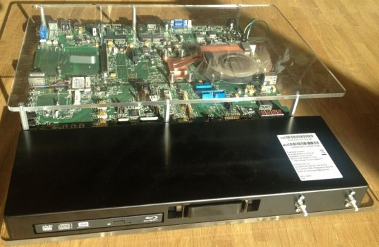 APU test bench from AMD