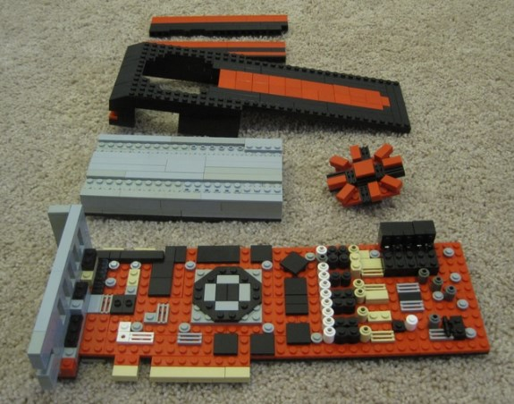 AMD Radeon HD 7970 in LEGO