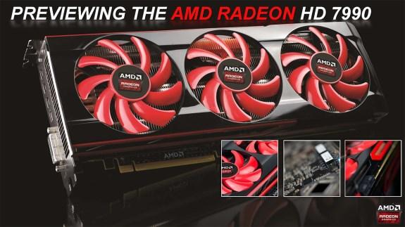 AMD Radeon HD 7990 reference design