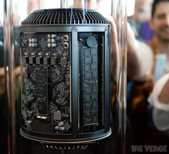 Apple Mac Pro Receives Cylindrical Design