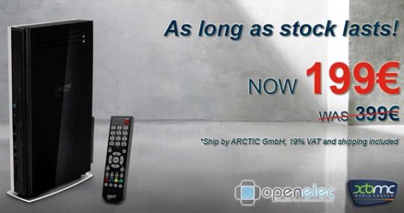 Arctic MC001 XBMC