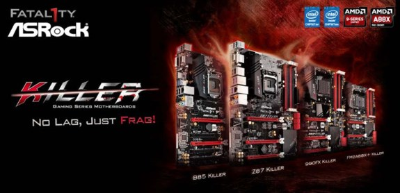 ASRock Killer motherboards