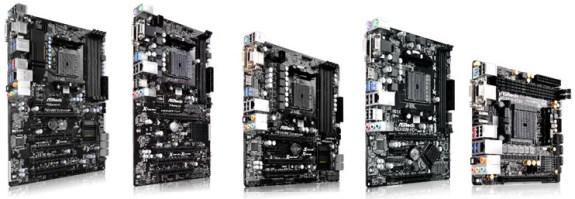 ASRock FM2+ motherboards