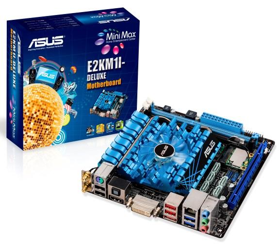 ASUS E2KM1-I Deluxe Mini-ITX
