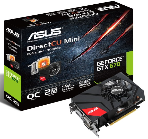 ASUS GeForce GTX 670 DirectCU Mini