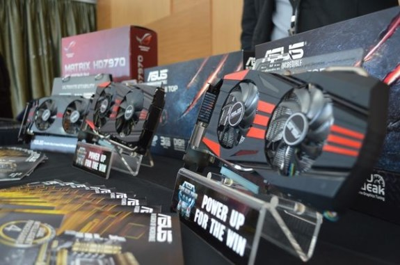 ASUS R7 and R9 Radeon cards