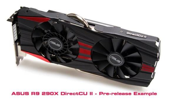 ASUS Radeon R9 290X DirectCU II