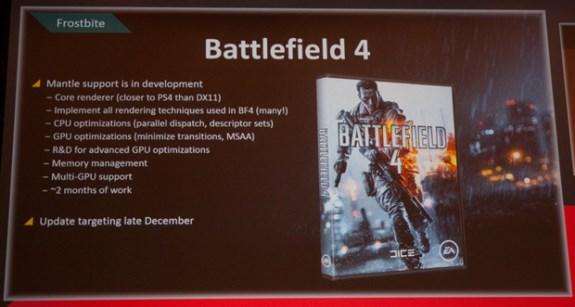 Mantle in Battlefield 4