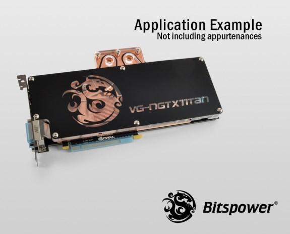 GTX Titan waterblock from Bitspower