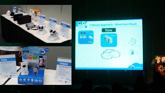 Compro C4Home Cloud platform