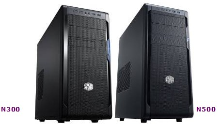 Cooler Master N300 and N500