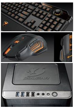 Cougar gaming peripherals at Computex