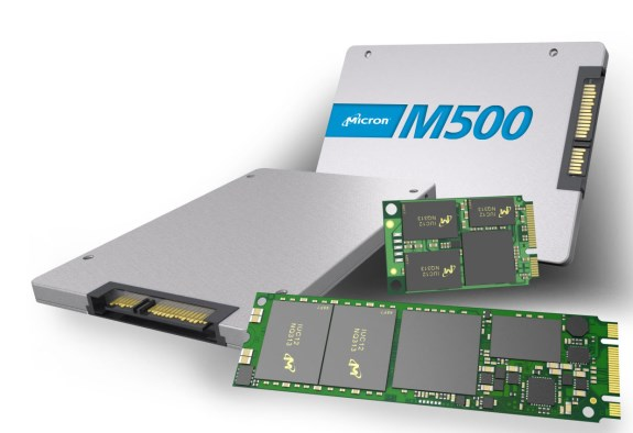 Crucial M500 SSD series