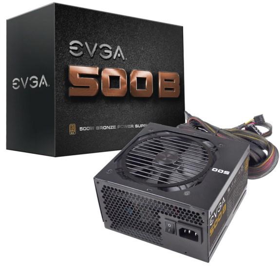 EVGA 500B PSU