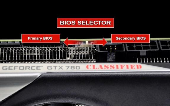 EVGA BIOS switch on GTX 780 Classified