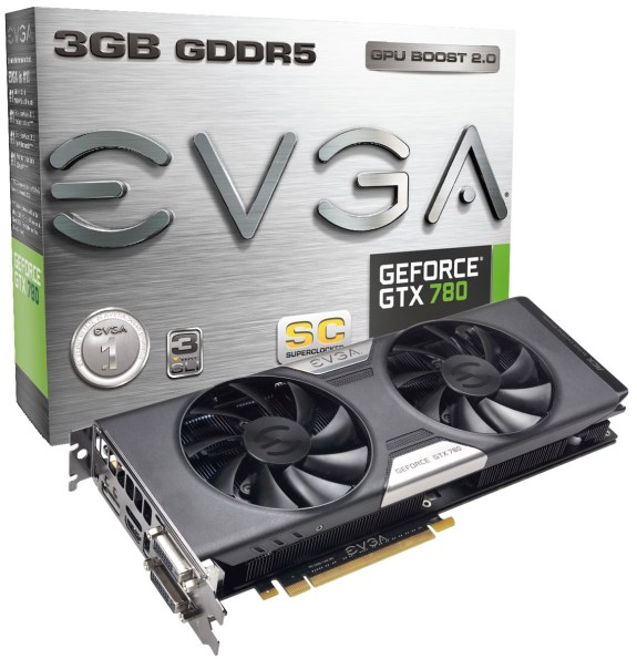EVGA GeForce GTX 780 SC with ACX cooler