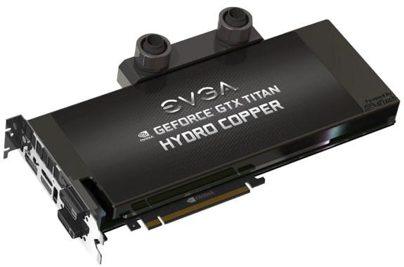 EVGA GeForce GTX Titan HydroCopper Signature