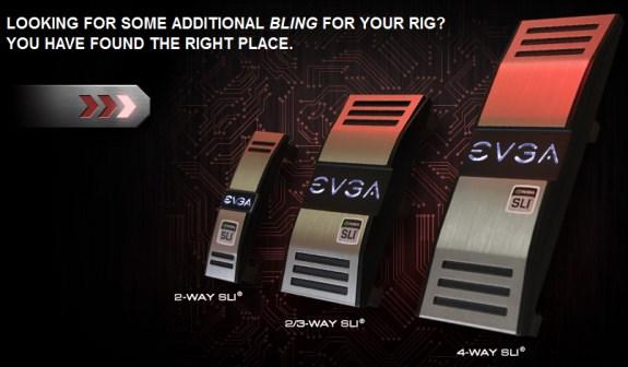 EVGA Pro SLI bridges