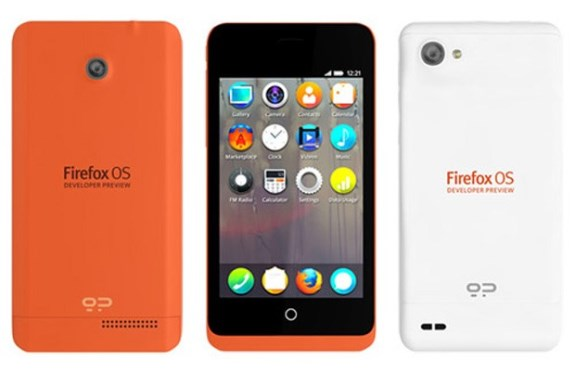 Firefox OS Developer Preview smartphone