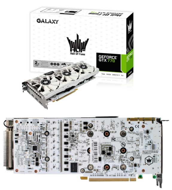 Galaxy GeForce GTX 770 HOF