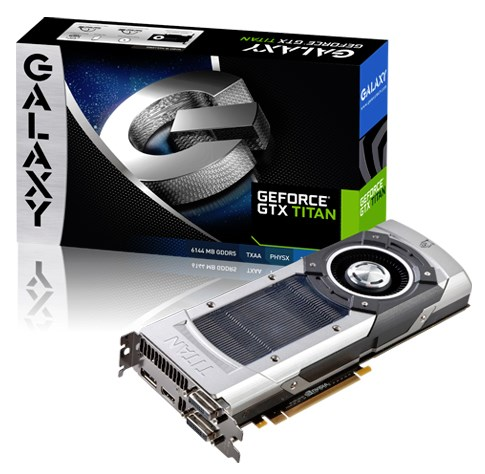 Galaxy GeForce GTX Titan