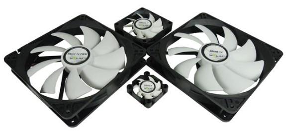 GELID Silent 4, 7, 14, 14 PWM silent fans