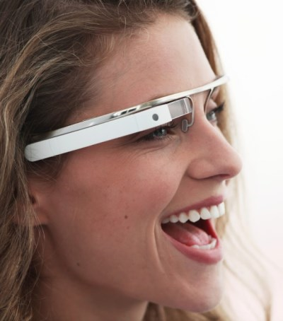 Google Glass wearer